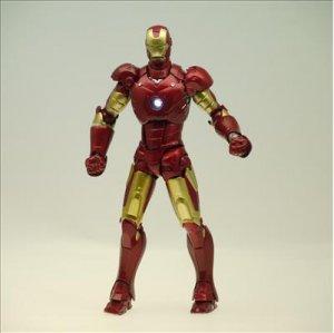 IRON MAN�MARK III Figure LED emits light�036 SCI-FI Kaiyodo Marvel Revoltech