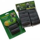 270 Pet Dog Waste Poop Bags in 18 Rolls 15bags/roll FREE Dispenser by PETOUTSIDE
