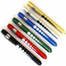 6 Professional Medical Diagnostic Penlights With Pupil Gauge