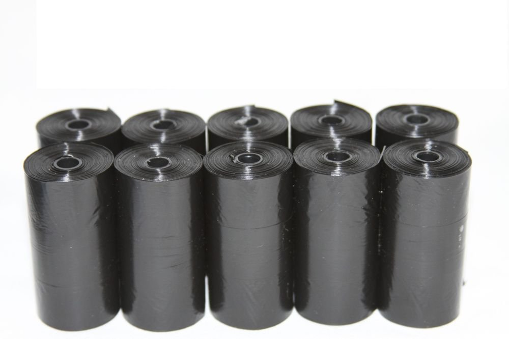 210 DOG PET WASTE POOP BAGS REFILL ROLLS WITH CORE