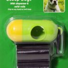 DOG PET WASTE POOP DISPENSER 30 REFILL BAGS