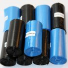 1800 DOG PET WASTE POOP BAGS 90 REFILL ROLLS CORELESS BLUE AND BLACK