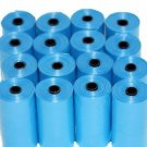 4040 DOG PET WASTE POOP BAGS 202 Blue REFILL ROLLS FREE DISPENSER