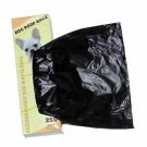 2000 Dog Pet Waste Poop Bags 8 Rolls Strong .75 mil 19 mcn easy separate blk