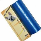 1500 Dog Pet Waste Poop Bags 6 Rolls Strong .75 mil 19 mcn easy separate blue