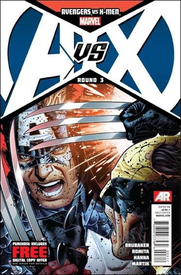 Avengers vs. X-men #3 VF/NM 1st print
