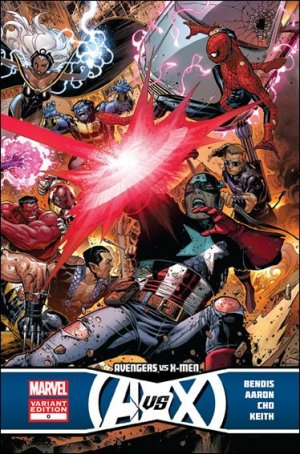 Avengers vs. X-men #0 VF/NM 1:25 variant