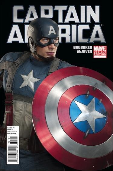 Captain America #1 VF/NM 1st print Movie cover