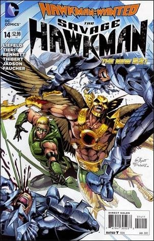 Savage Hawkman #14 VF/NM