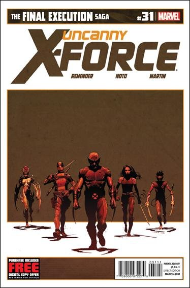Uncanny X-Force #31-34 *4 ISSUE SET ALL VF/NM