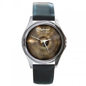 Bosphorus Oracle Cymbal Pictures Round Metal Watch