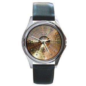 Paiste 13inch Signature Dark Crisp Hi Hats Cymbal Pictures Round Metal Watch