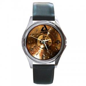 Paiste Alpha Thin 8inch Splash Cymbal Pictures Round Metal Watch