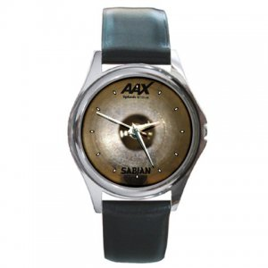 Sabian AAX 10inch Splash Cymbal Pictures Round Metal Watch