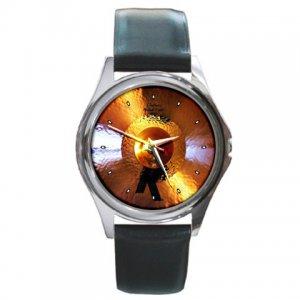 Zildjian K 19inch Custom Hybrid Crash Cymbal Pictures Round Metal Watch