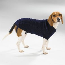 Casual Canine Cable Knit Sweaters