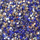 1000 Crystal Flat Back Acrylic Rhinestones Gems 5mm Blue