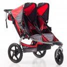 B.O.B. Stroller Strides Fitness Stroller - Duallie-Red
