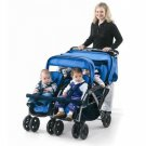 Foundations The Quad Four Passenger Stroller