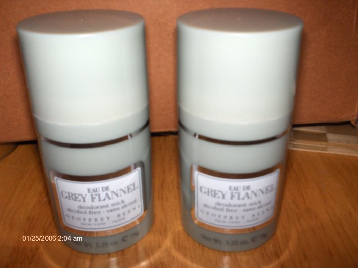 GREY FLANNEL  by  GEOFFREY BEENE DEODORANT 3.25 oz
