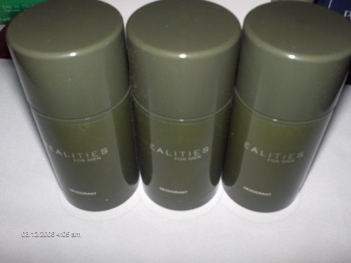 REALITIES  MEN DEODORANT STICK LIZ CLAIBORNE