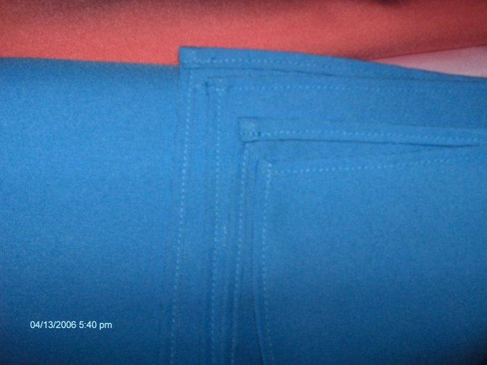 4 LIGHT BLUE NAPKIN 20 X 20  TABLE LINEN