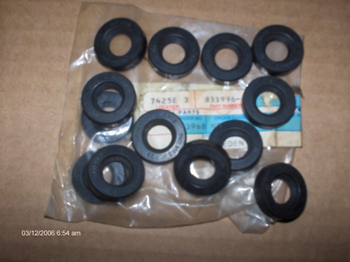 volvo penta sea water pump  seal # 833996 x 2  MANY APPLICATIONS