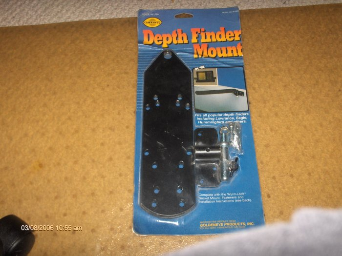 BOAT DEPTH FINDER MOUNT GOLDENEYE MANY MODELS