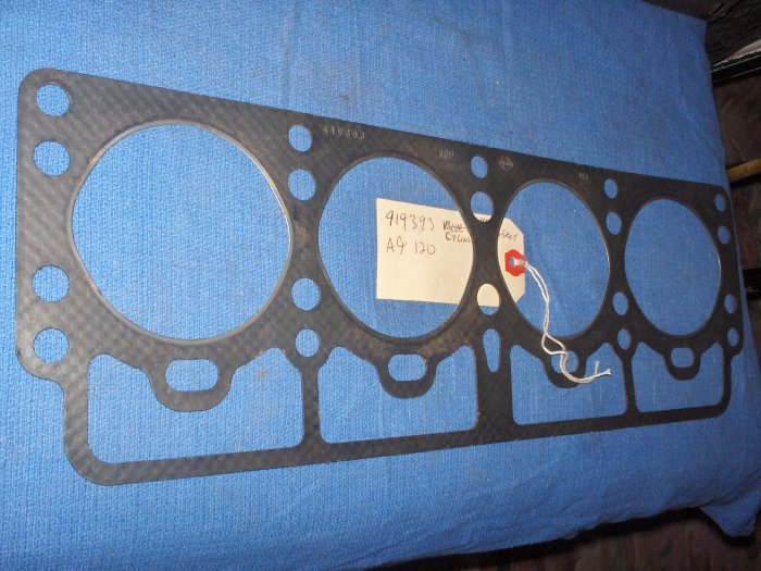 VOLVO PENTA   HEAD GASKET ; AQ # 419393  HIGH PERFORMANCE  RET $100 AQ120 95A B18