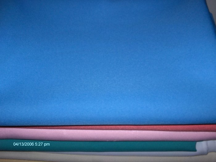 1 dozen   tablecloth  restaurant linen  1 doz  light blue 64 x64  . save by the dozen !!