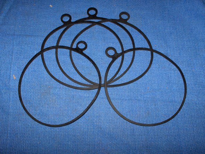 VOLVO PENTA upper gear cover  gasket  lot 2 pcs