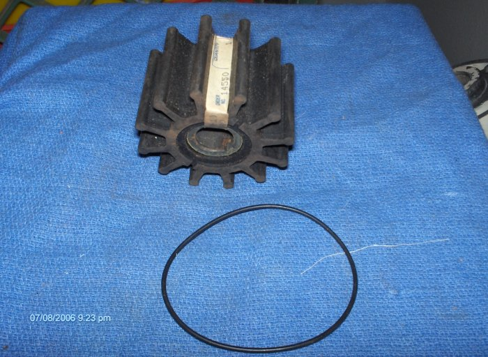 VOLVO PENTA # 835874 IMPELLER + SEAL