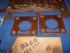 VOLVO PENTA vintage COPPER gasket LOT  802010 / 859220