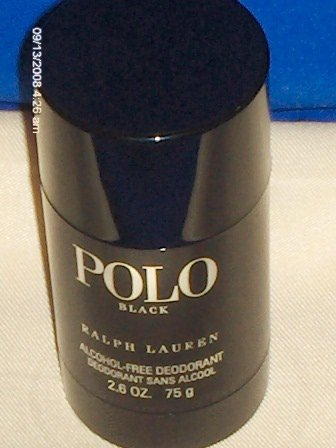 POLO BLACK DEODORANT STICK 2.6 oz / 75 g  ralph lauren