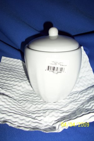 mikasa sugar bowl chef`s white tyler florence bowl
