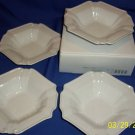 mikasa tyler florence soup bowl 4 pc set baroque new