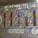 Golden Girl 9 Long Distance Golf Balls NEW Pink White Yellow  in original box