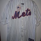 ny mets jersey majestic home field mets jersey blue pinstripes with tags