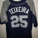 ny yankees jersey teixeira MLB merchandise nwt sewn L