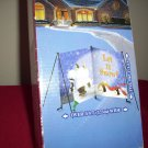 SNOWMAN Yard Card Decor  Christmas Welcoming Holiday Yard Card