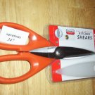 kitchenaid all purpose shears scissors  tangerine