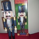 "Eduscho  Wooden Nutcracker   Figure 17"" Christmas Deco w/ Origina Box"