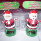 Christmas Solar Powered Dancing   Santa  holiday solar dancers