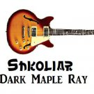 Original Shkoliar Brand Electric Guitar Dark Maple Ray