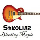 Original Shkoliar Bleeding Maple Electric Guitar