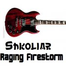 Original Shkoliar Raging Firestorm Electric Guitar