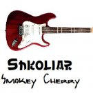 Original Shkoliar Smokey Cherry Electric Guitar
