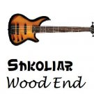 Original Shkoliar Wood End Bass Guitar