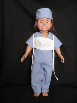 Doctor/Surgeon scrubs for American girl