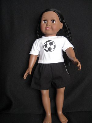 Soccer outfit for American Girl